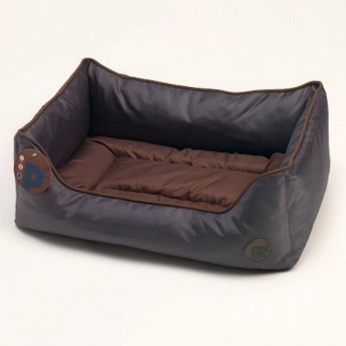 Oxford Square Bed Chocloate (XLarge)